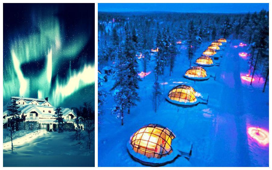 Satul de iglu, Finlanda
