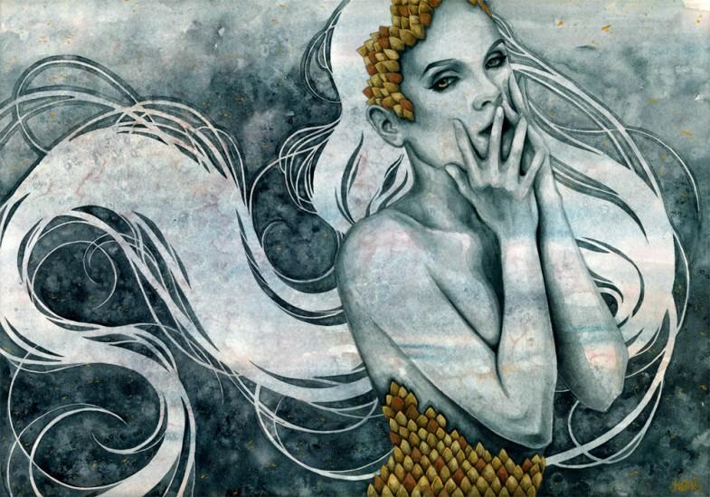 Kelly McKernan ethereal paintings